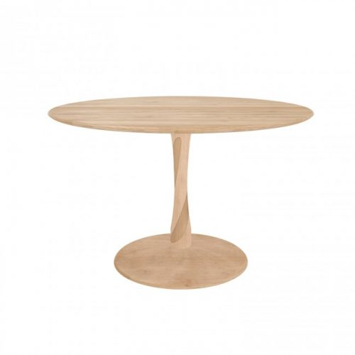 50020 torsion dining table oak