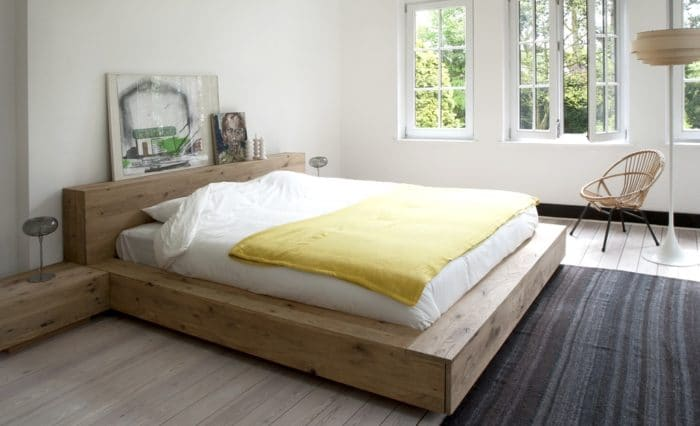 51201 Oak Madra bed 3