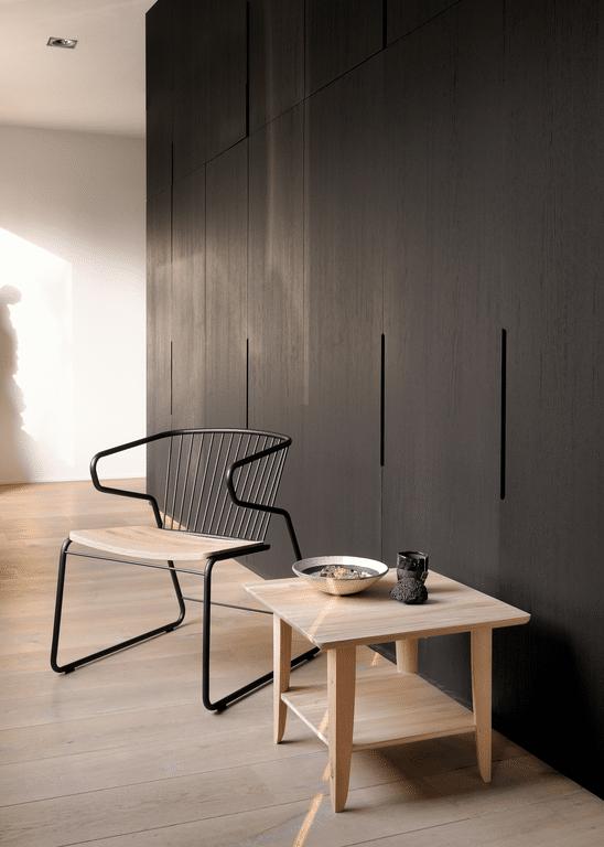 51414 Oak Simple side table