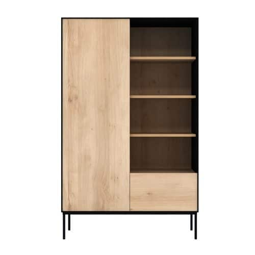 51470 Oak Blackbird storage cupboard f