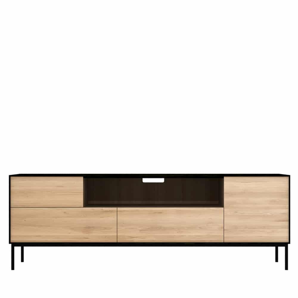 51473 Oak Blackbird TV cupboard f