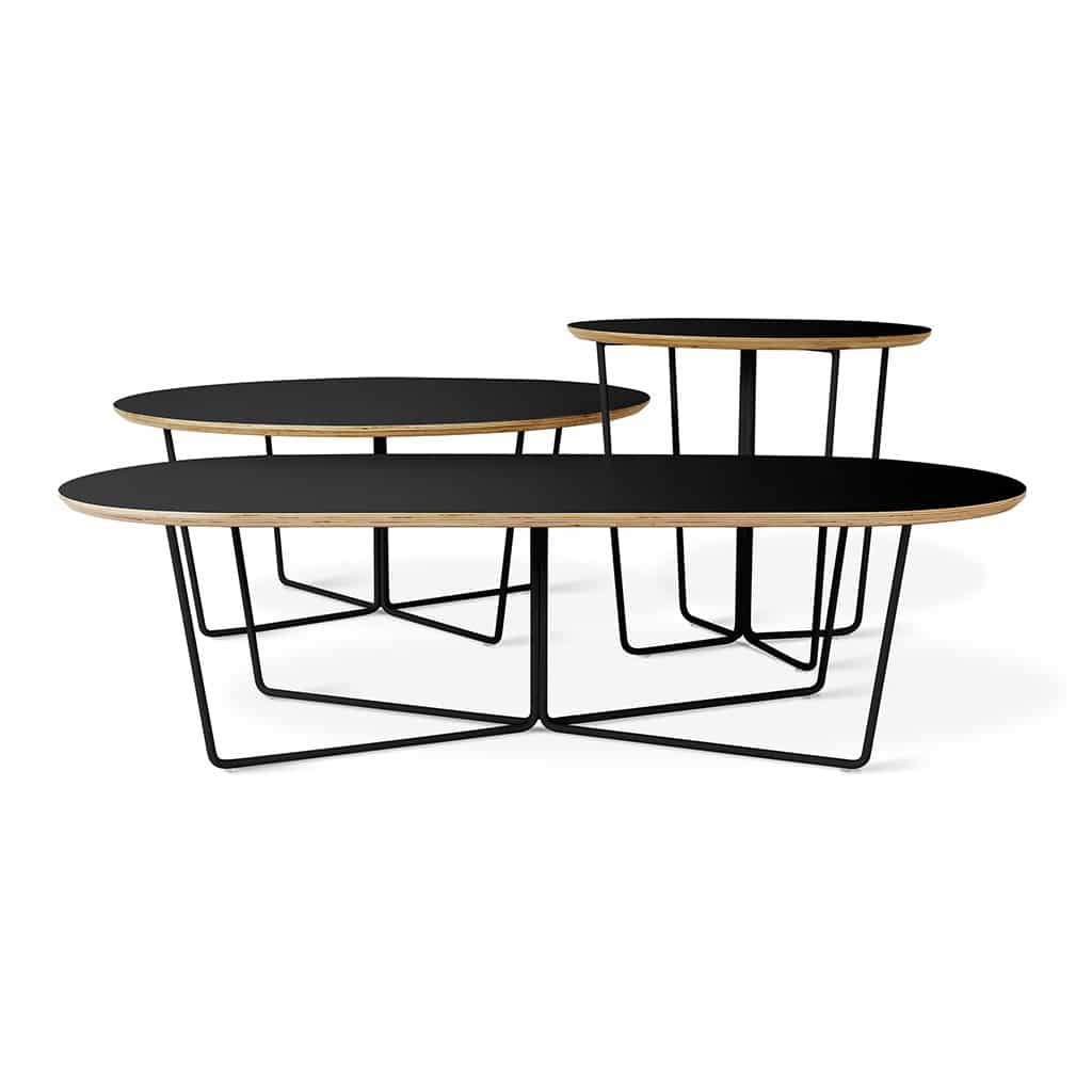 Array Coffee Table Oval  Array Coffee Table Round  Array End Table Black