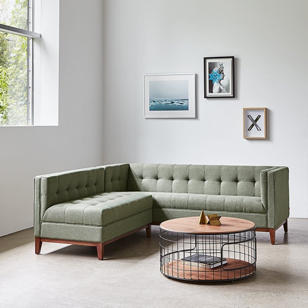 Atwood Bi Sectional   Parliament Moss   P02 2