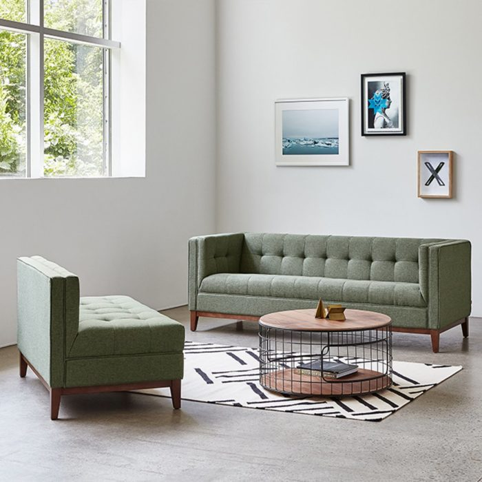 Atwood Lounge Atwood Sofa   Parliament Moss 460
