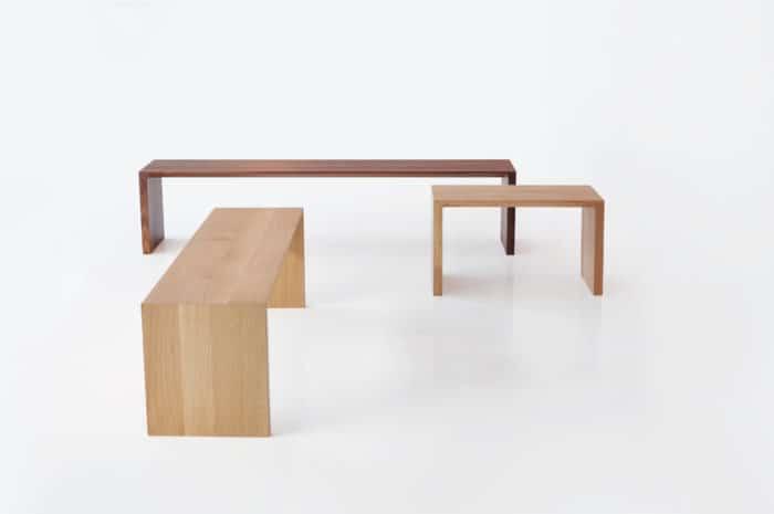 Bense Raddi Bench Set