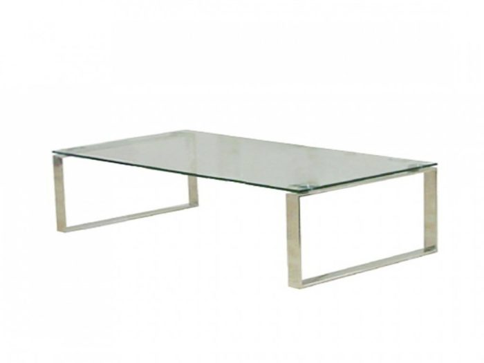Calvoin glass coffee table