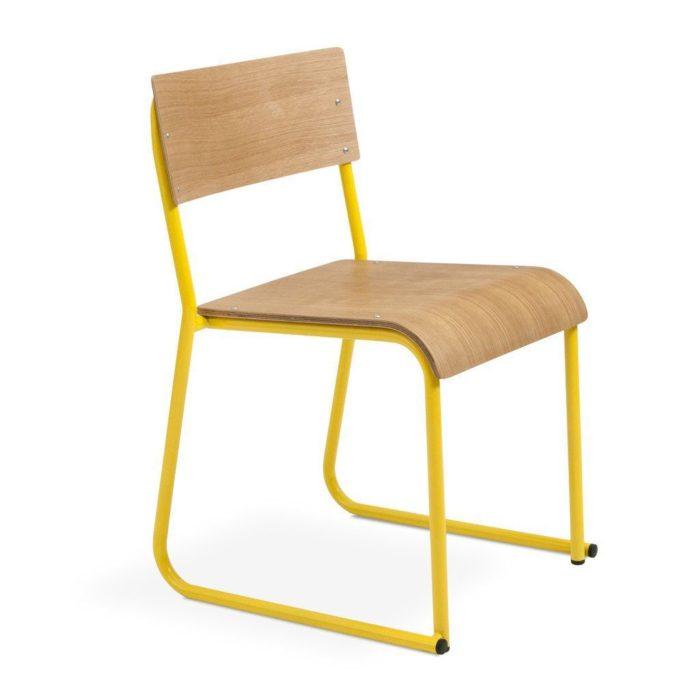 Church Chair   Oak Canary e1517181993685