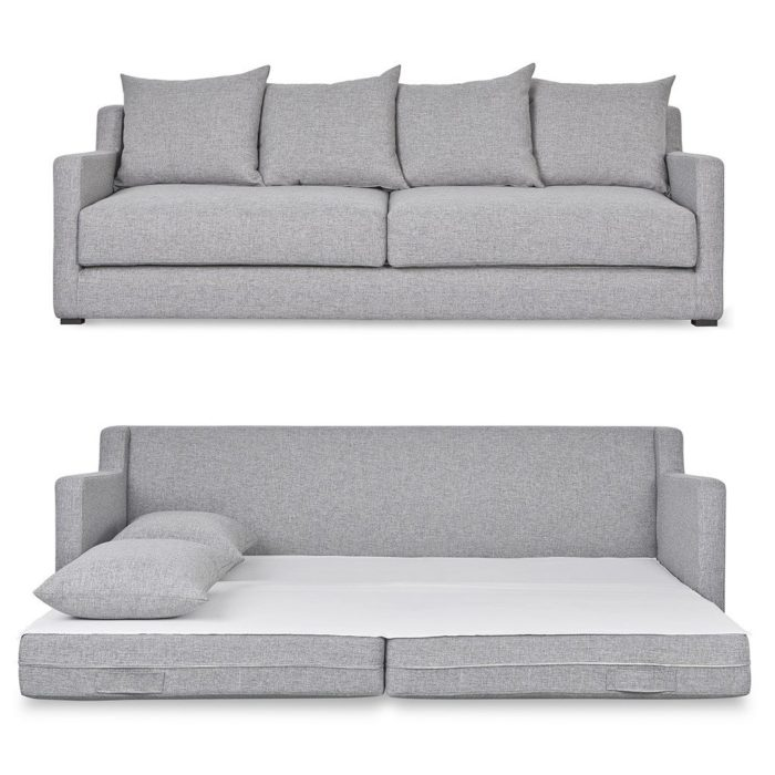 Flipside Sofabed Open Parliament Stone P02 1