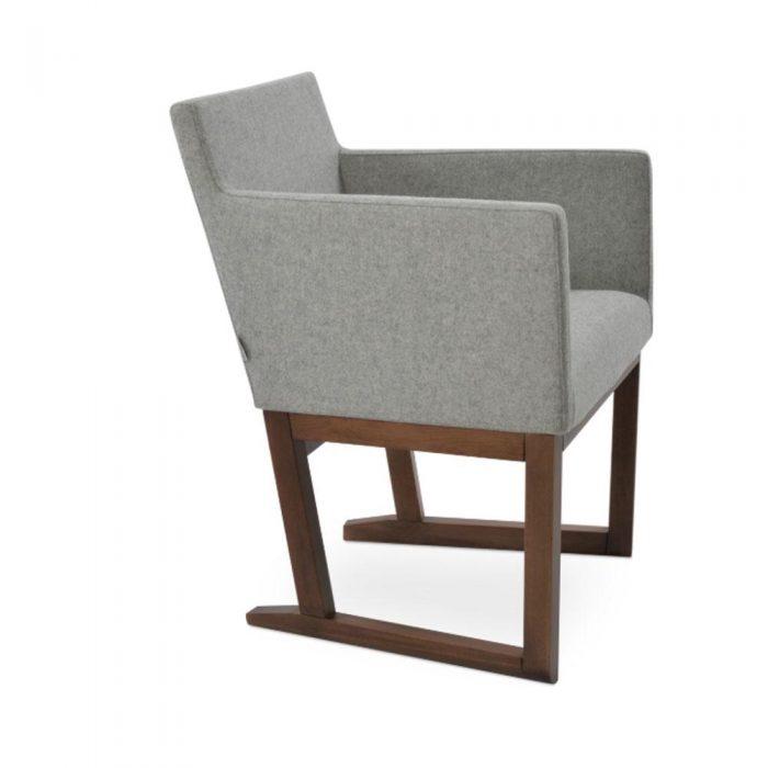 Harput Sled Wood Arm Chair Fabric 02 1500x