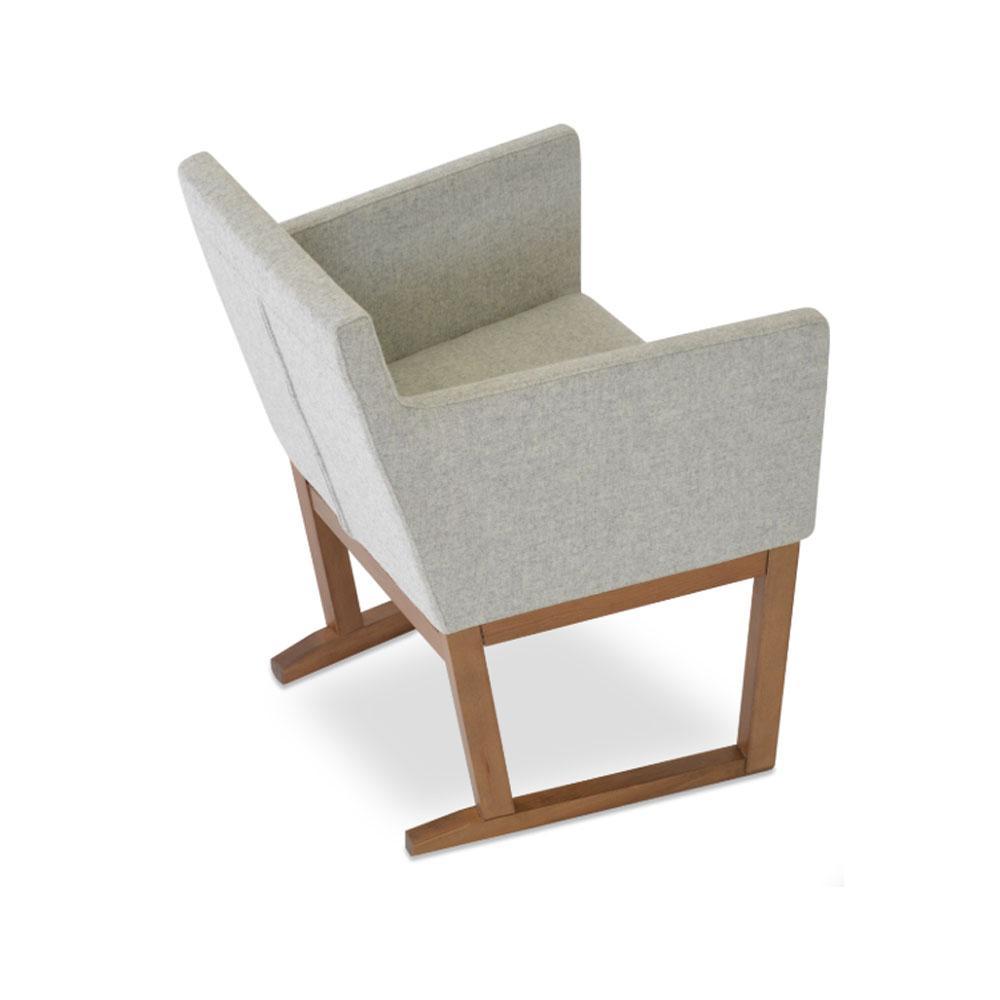 Harput Sled Wood Arm Chair Fabric 03 1500x