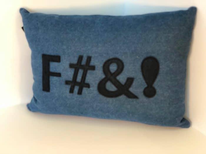 F#&! Pillow