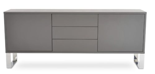 MALTA SIDE BOARD GREY LACQUER 1 preview