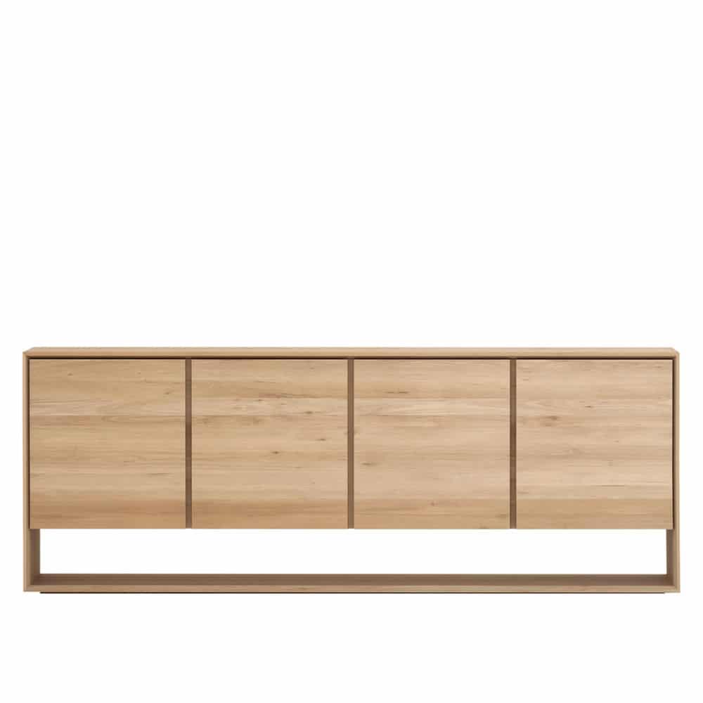 Oak Nordic sideboard 210cm