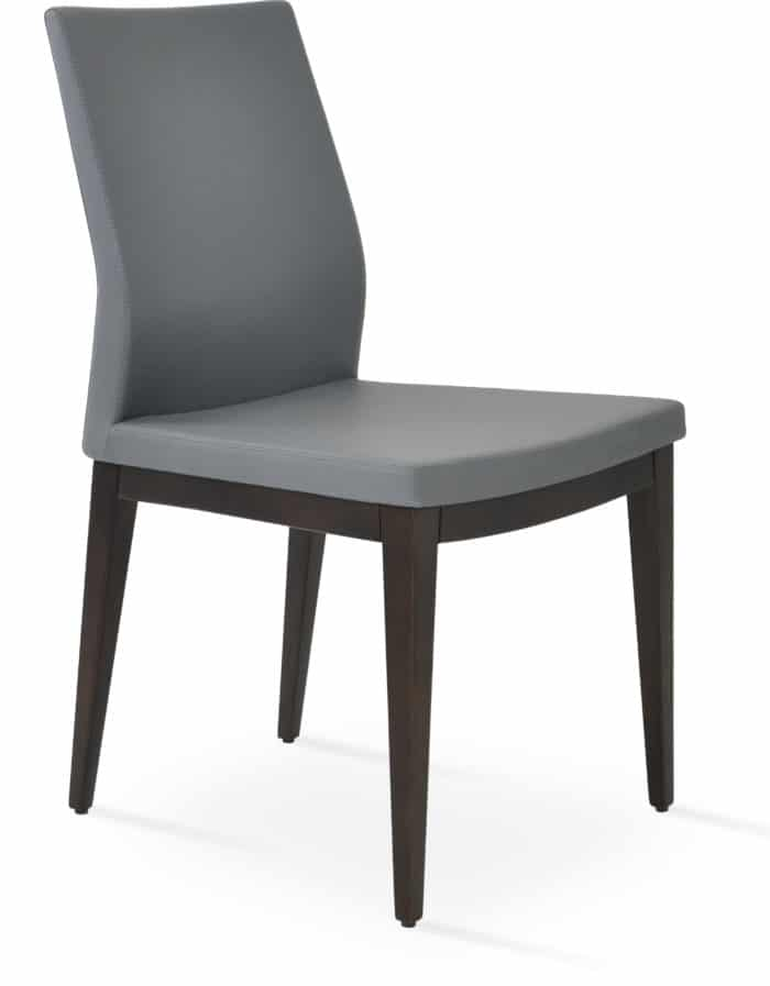 PASHA Dining beech Solid Wood wenge finish GREY F.SOFT