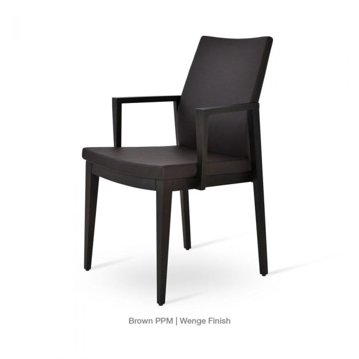 Pasha Wood Arm Chair Leather 01 1500x