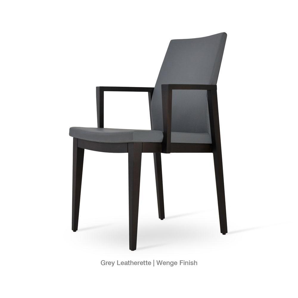 Pasha Wood Arm Chair Leather 02 1500x