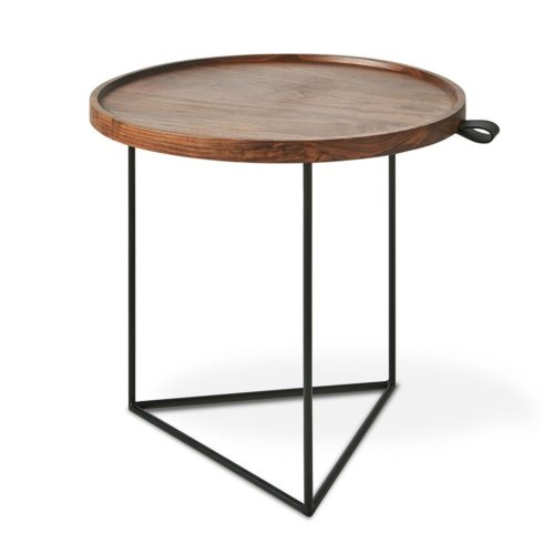 Porter End Table Walnut P01