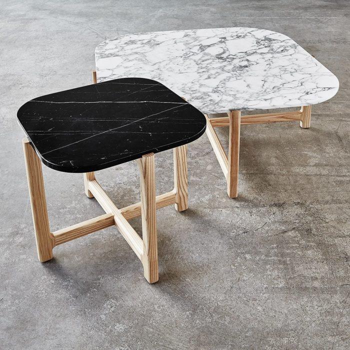 Quarry Coffee Table End Table   Bianca Nero   L01 1024x1024