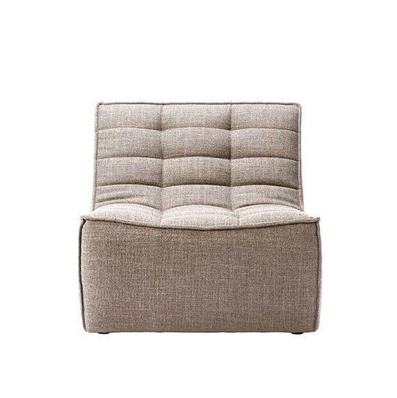 TGE 020229 N701 Sofa 1 seater dark beige 80x91x76 f e1533426828630