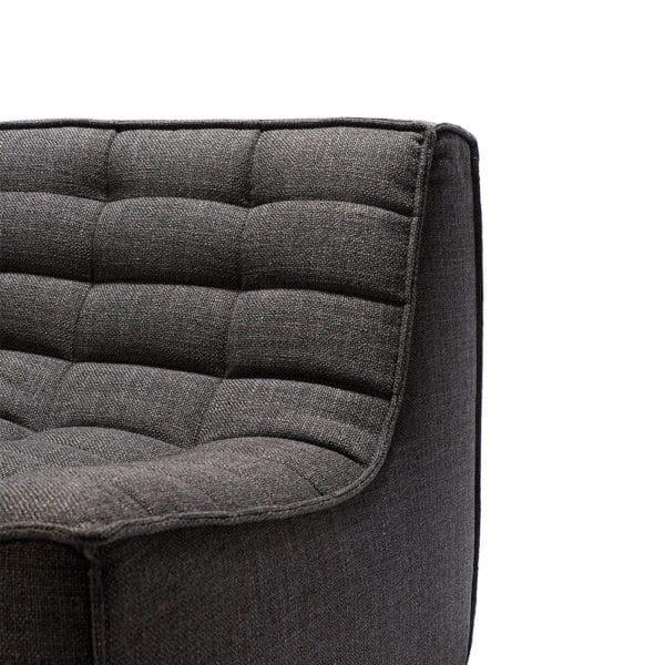 TGE 020234 N701 Sofa 3 seater dark grey 210x91x76 det2 600x600