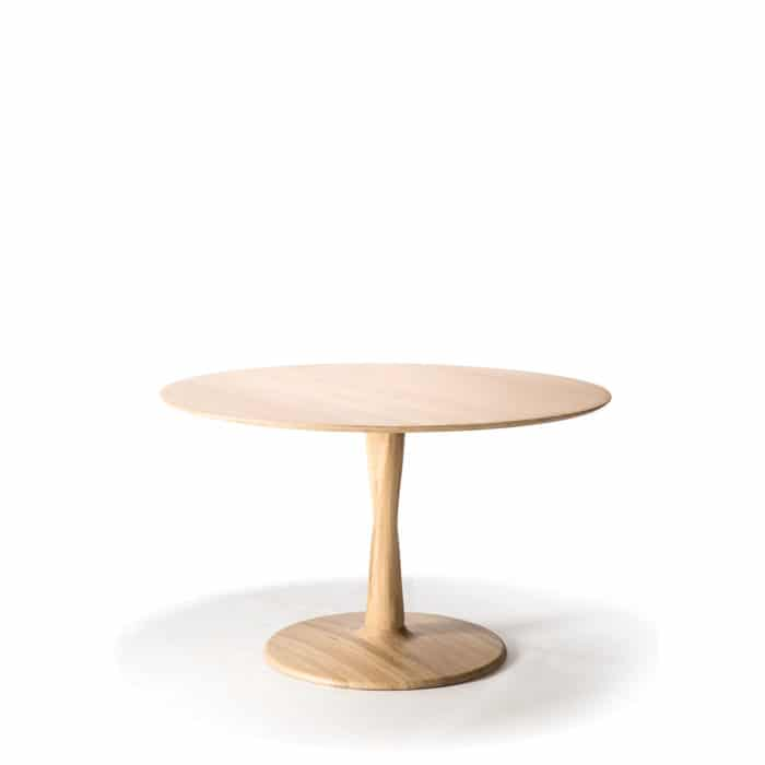 TGE 050019 Oak Torsion dining table 127x127x76