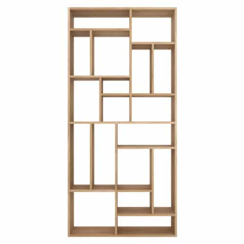 TGE 050771 Oak M rack open 104x30x219 f