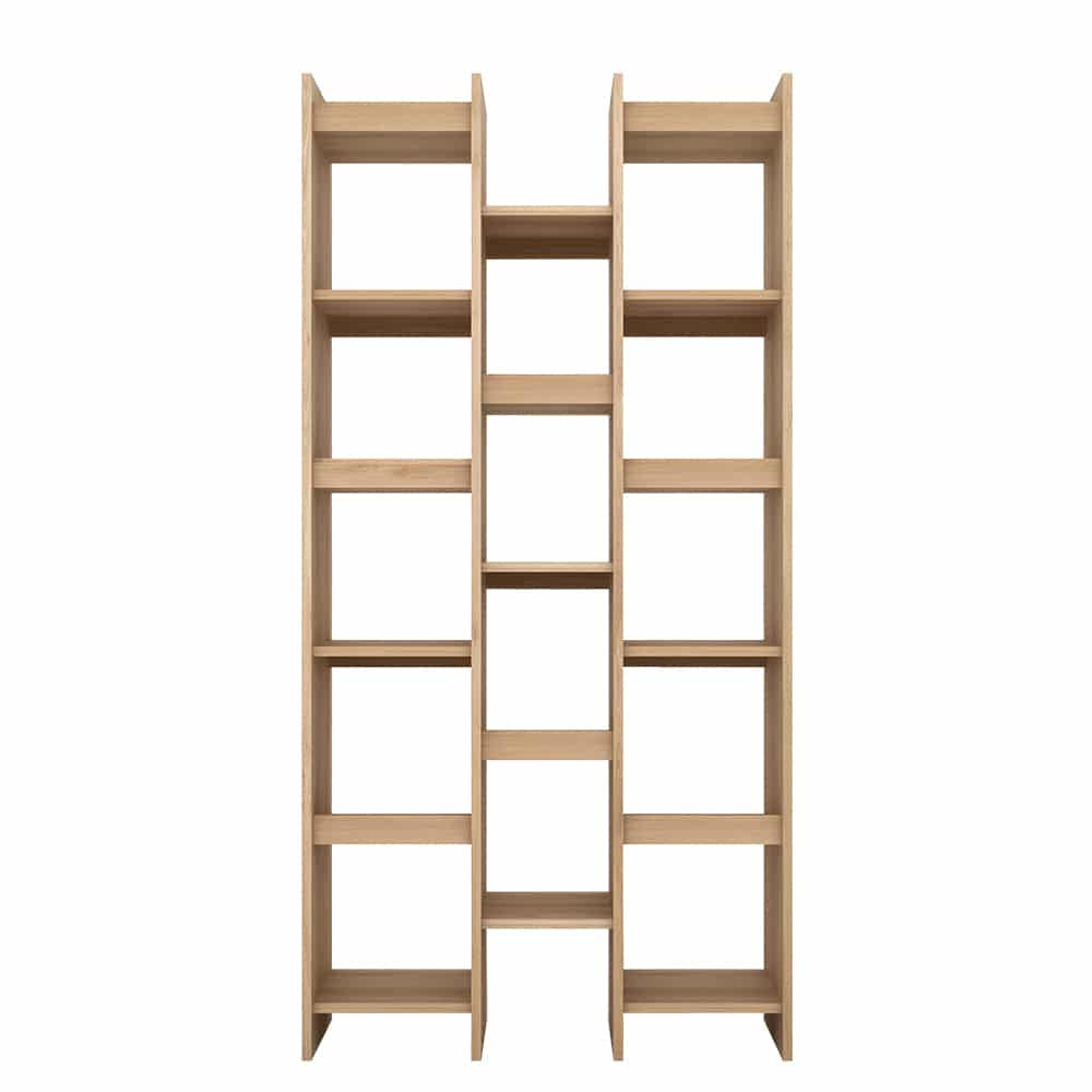TGE 050774 Oak Mozaic rack 3 rows 100x34x2013 f