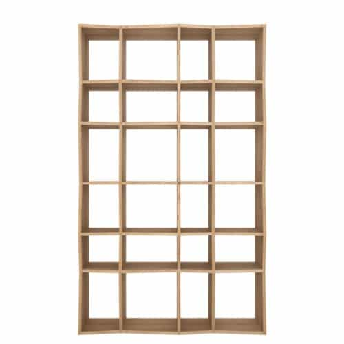 TGE 050778 Oak Z rack 125x37x207 f