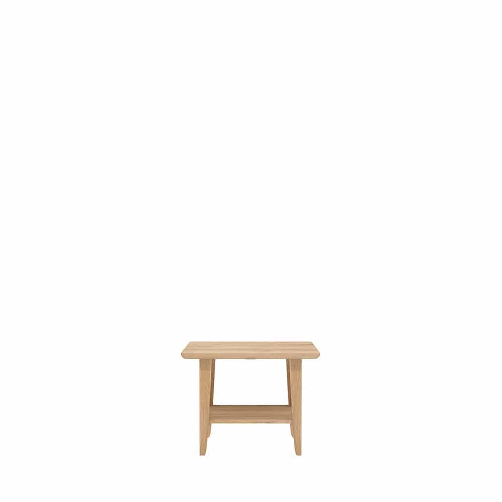 TGE 051414 Oak Simple side table 55x55x42 f