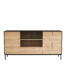 TGE 051472 Oak Blackbird sideboard 3 doors 2 drawers 180x45x90 f