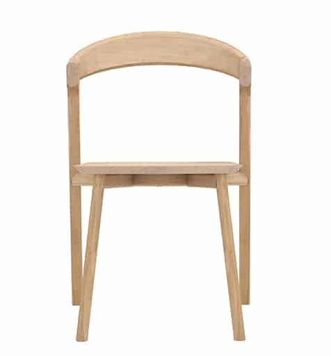 TGE 051490 Oak Bok Chair without armrest 50x53x76 f high