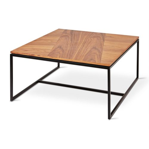 Tobias Coffee Table Square Walnut P01