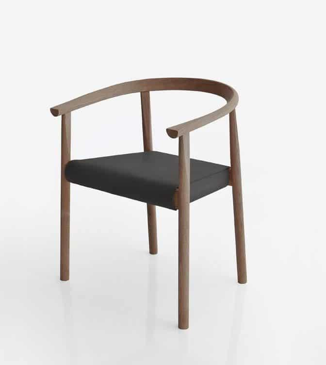 Brown & Black Tokyo Chair