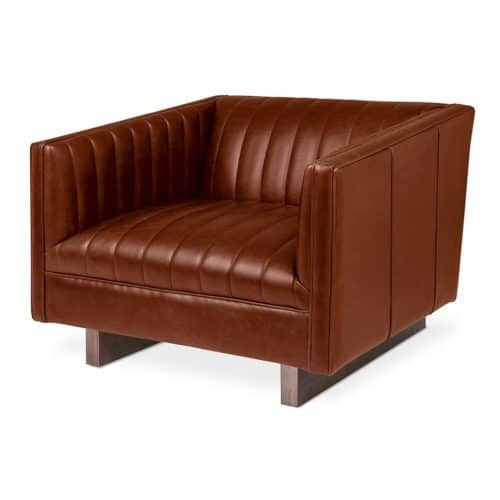 Wallace Chair   Saddle Brown Leather   P01 1024x1024