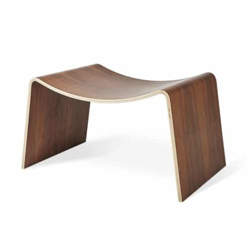 Wave Stool Walnut