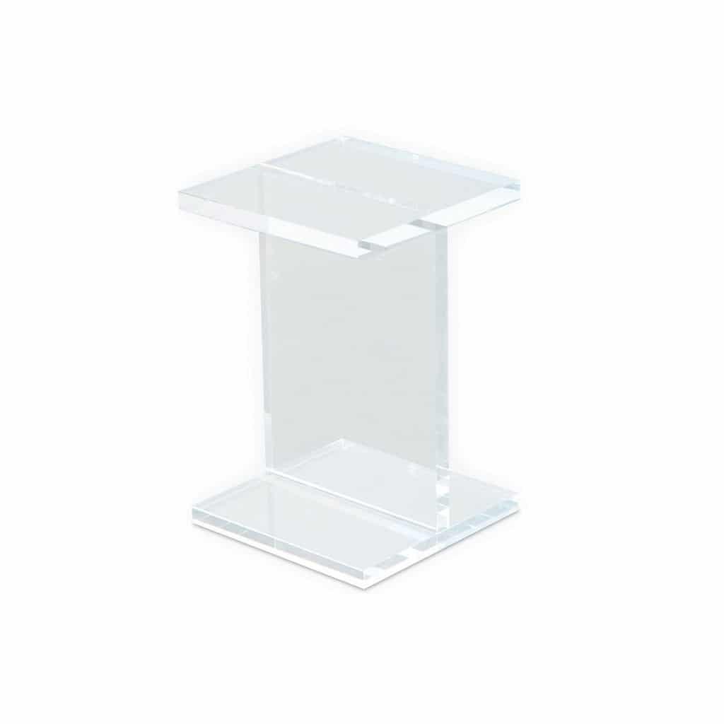 acrylic i beam table