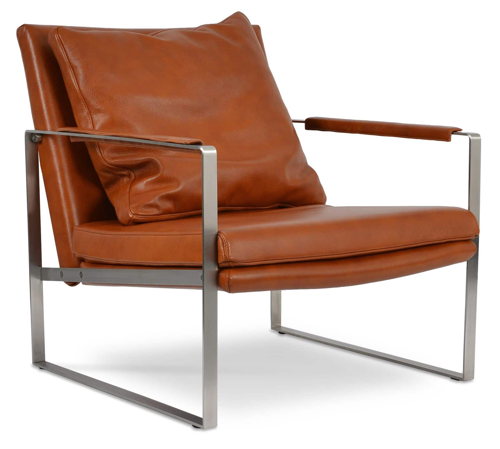 Soho Concepts Brown Leather Zara Chair