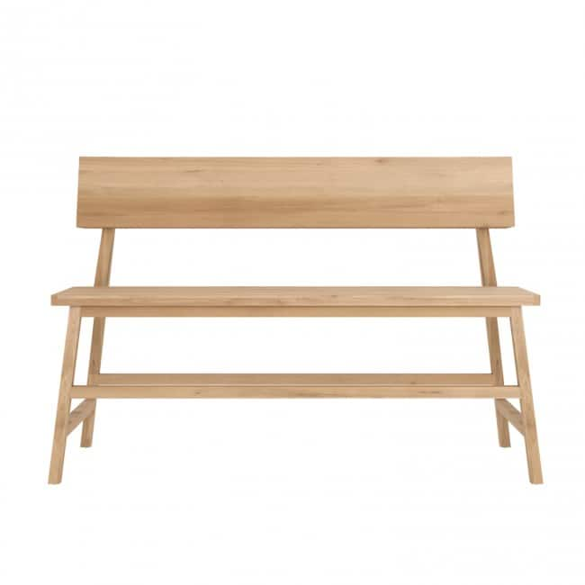 ethnicraft oak n3bench