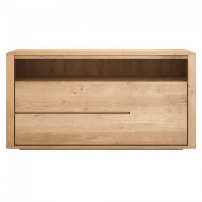 ethnicraft oak shadow chest of drawers 4