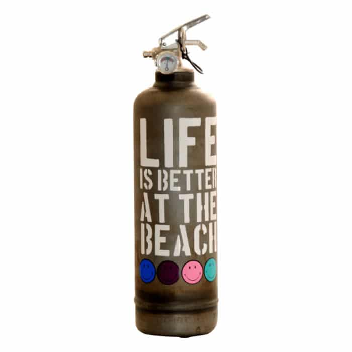 fire extinguisher life beach