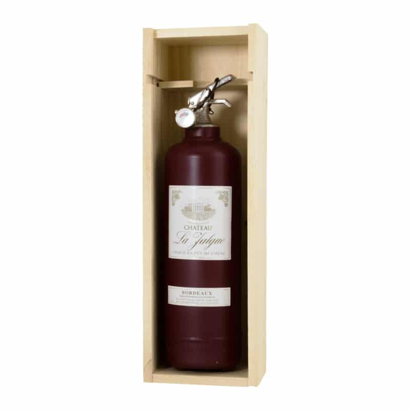 fire extinguisher wine bordeaux