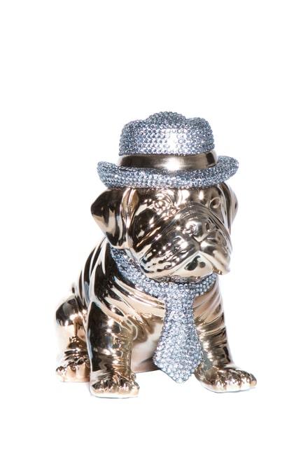 Gold English Bulldog Decoration