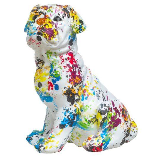 Paint Splat Bulldog Figure