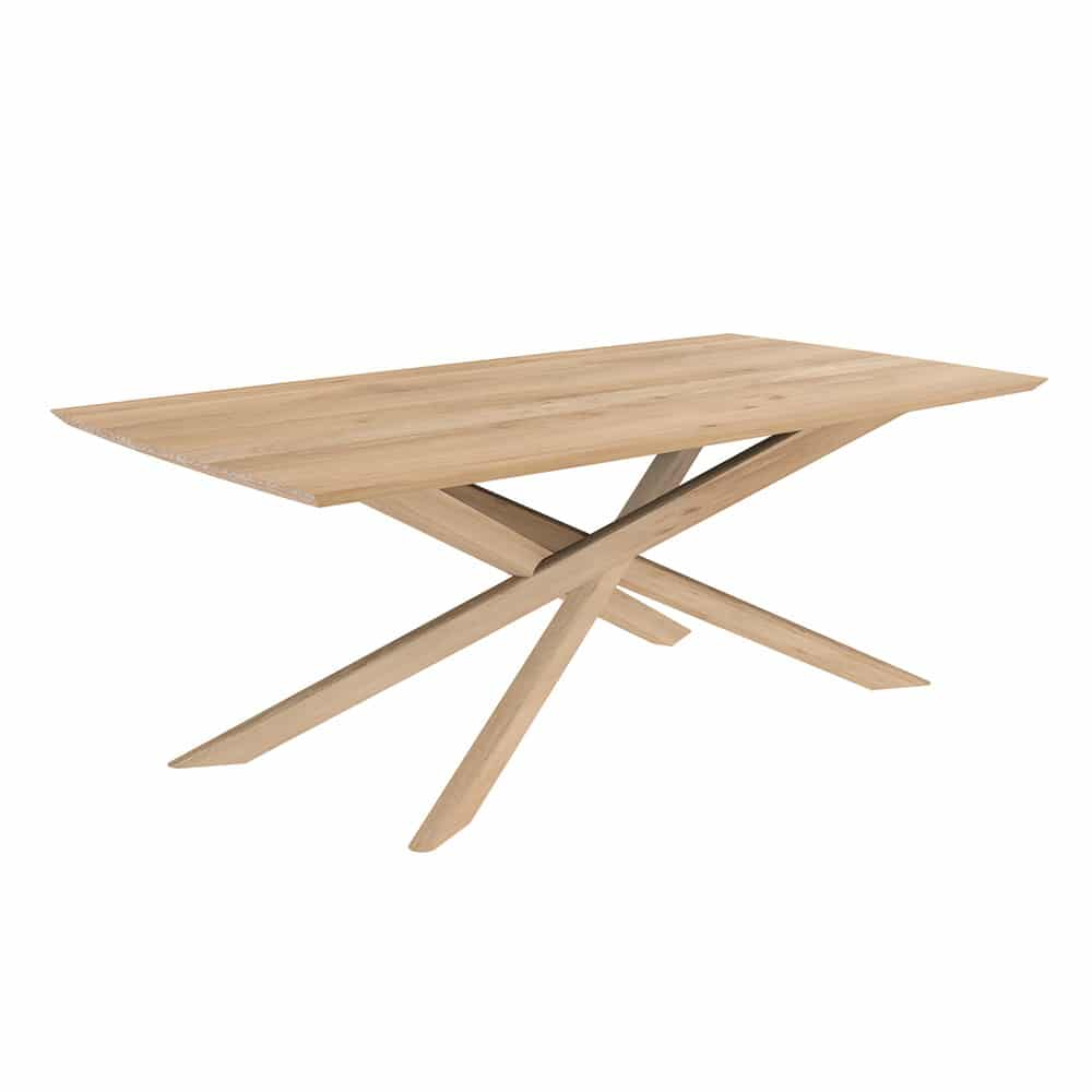 oak mikado dining table 11