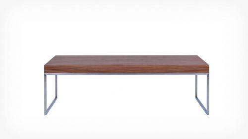 Walnut coffee table front