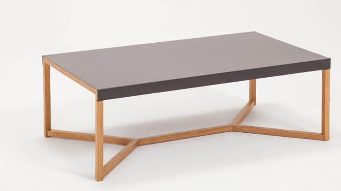 Trivia Charcoal Coffee Table Angle