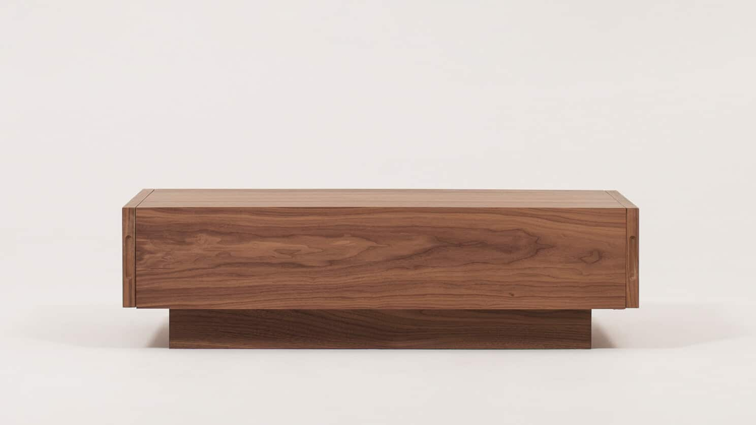 Walnut Cocktail Table Front