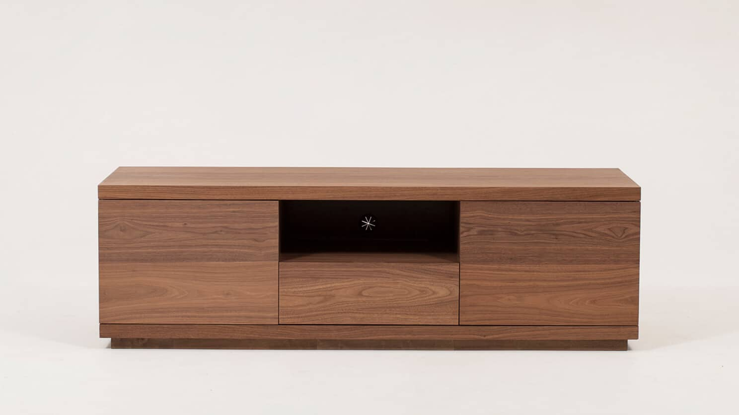 Walnut Plasma Unit Front