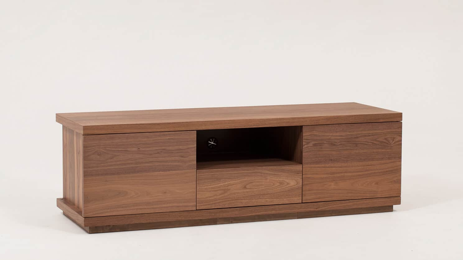 Walnut Plasma Unit Corner