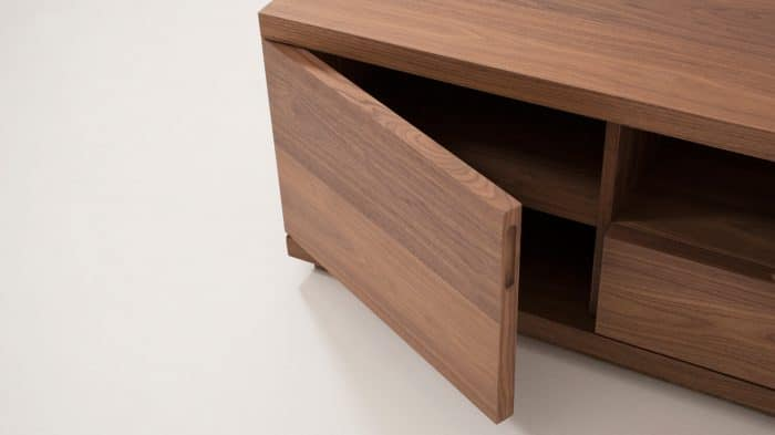 Walnut Plasma Unit Storage